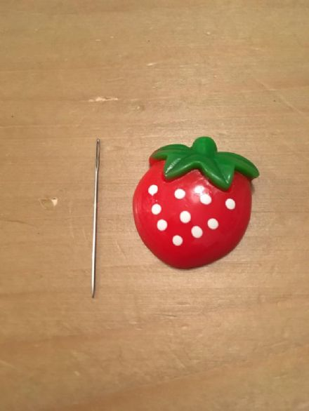 Strawberry Needle Minder